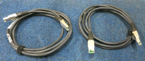 2 x EMC HSSDC To HSSDC 2M Cable 038-003-509 Symmetrix Dell RAID Array Network